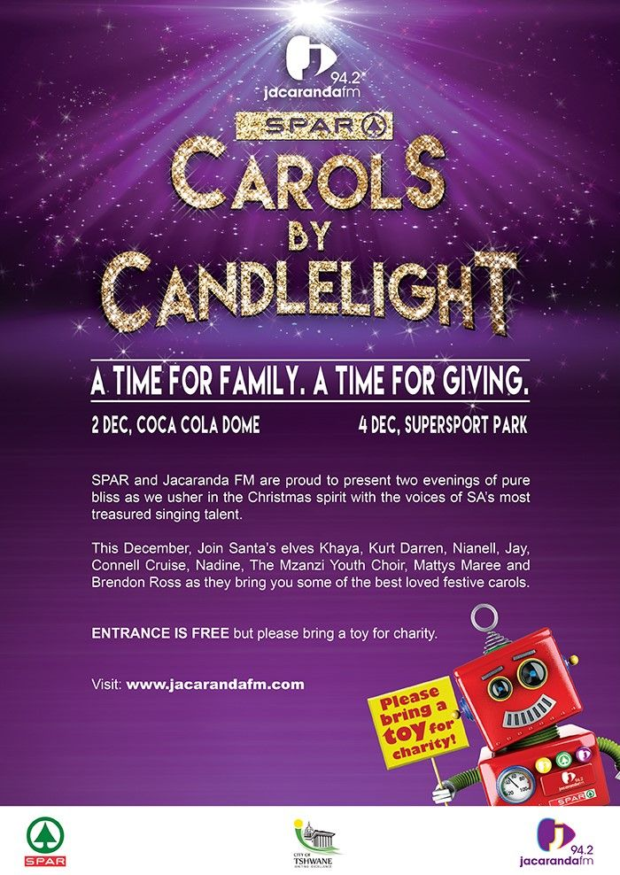 Spar/JacarandaFM Carols by Candlelight 2014